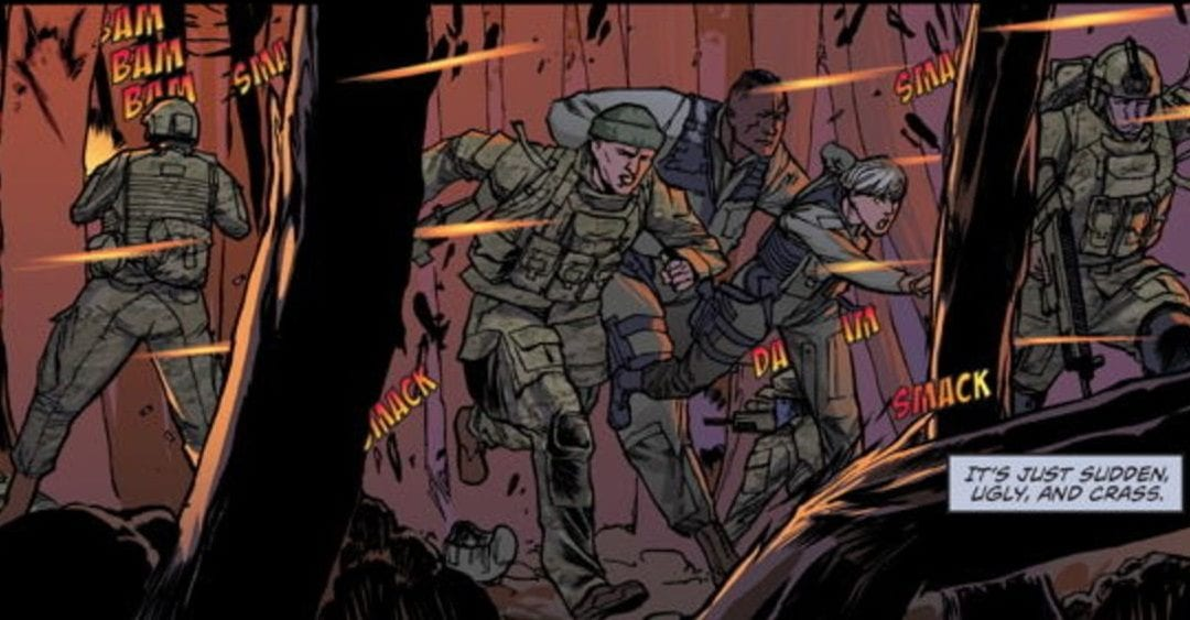 The Whispering Dark #1 Review