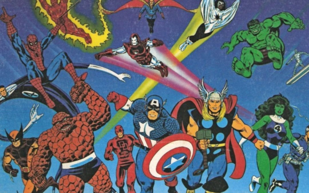 Nostalgia Knowledge – Marvel Superheroes Role Playing Game