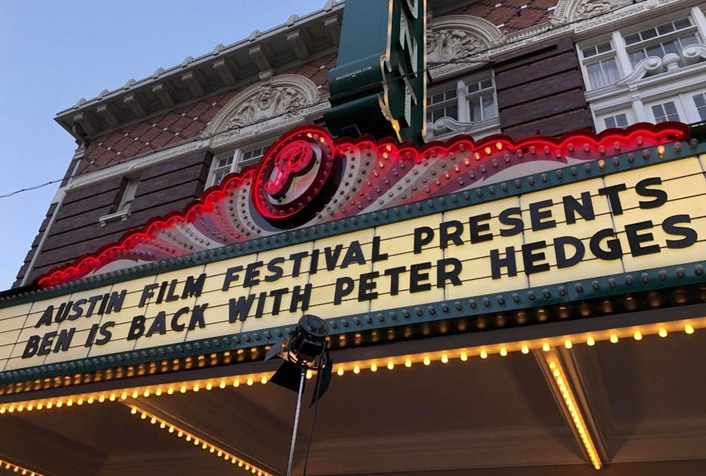 Interview with Peter Hedges – Austin Film Fest (AFF) Red Carpet