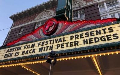 Interview with Peter Hedges – Austin Film Fest (AFF) Red Carpet