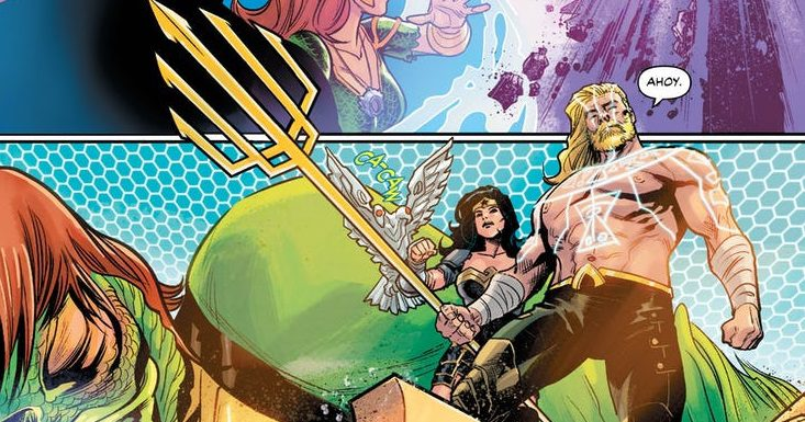 Aquaman/ Justice League Drowned Earth #1 Review