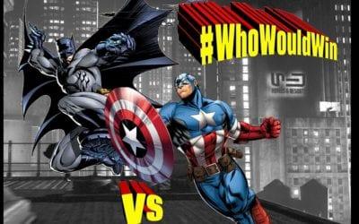 #WhoWouldWin: Captain America Vs. Batman