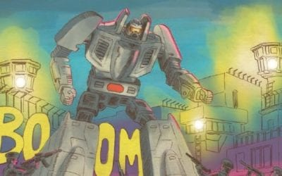 Go-Bots #1 Review