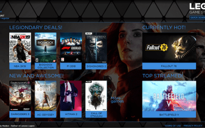 Lenovo Announces New Online Game Store – Launching on Cyber Monday