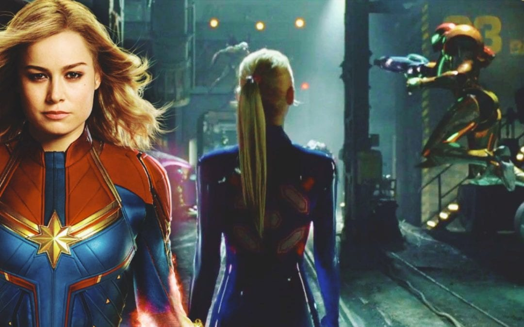 Should Brie Larson and Jordan Vogt-Roberts Team-Up For A 'Metroid' Movie? – Brie Dresses As Samus For Halloween
