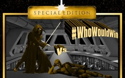 #WhoWouldWin: Kylo vs. Deadpool Special Edition
