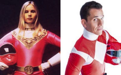 Interview with Steve Cardenas and Catherine Sutherland from Power Rangers at MCM Comic-Con London