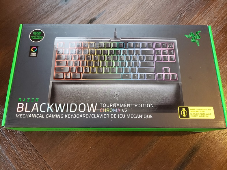 Review: Razer Blackwidow Tournament Edition Chroma v2