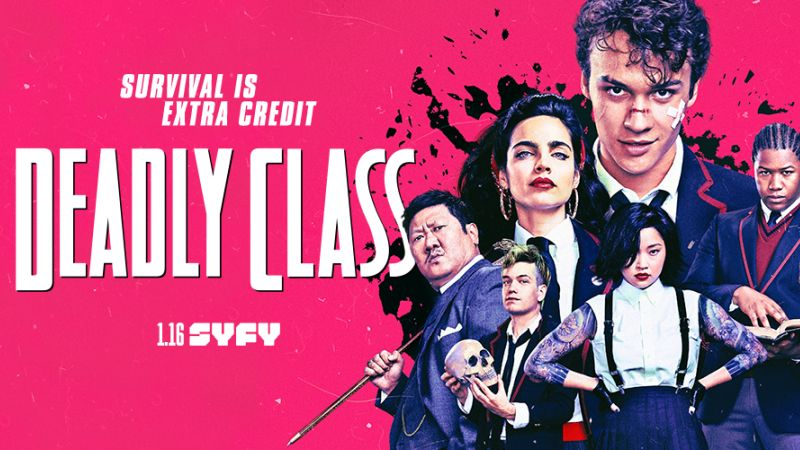 DEADLY CLASS Episodes 1-4 Review