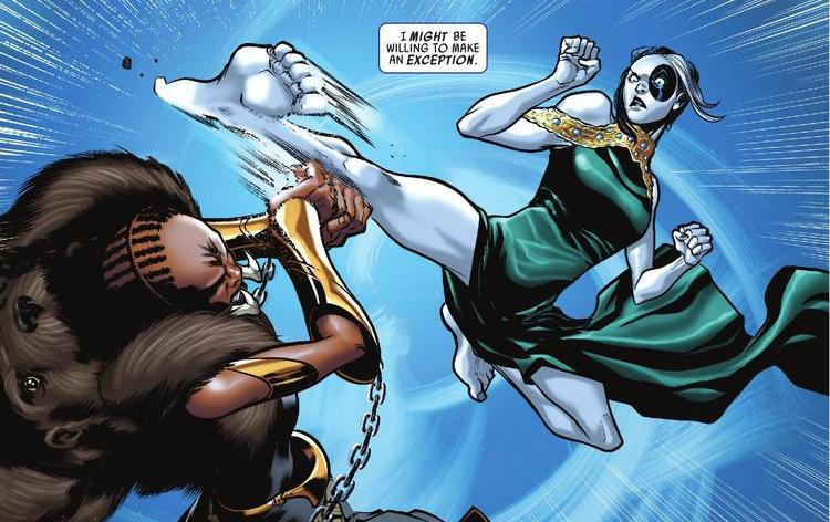 Domino #9 REVIEW