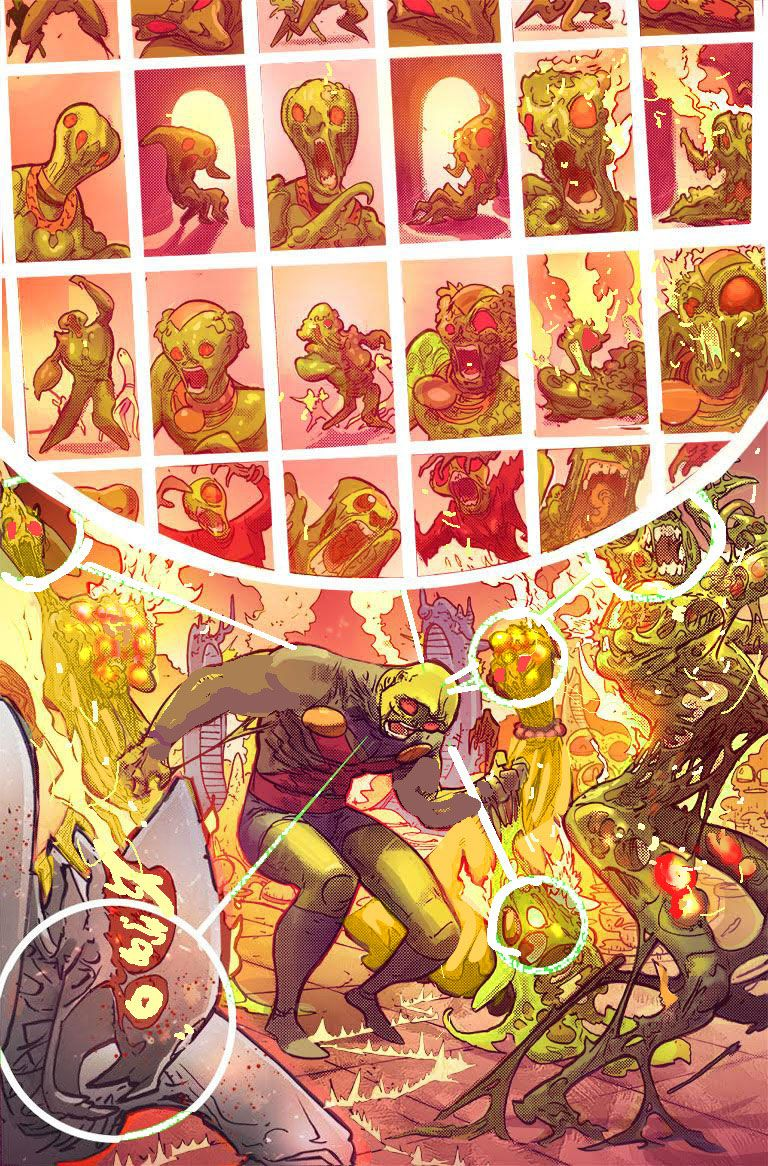 Image result for martian manhunter #1 2018 panels