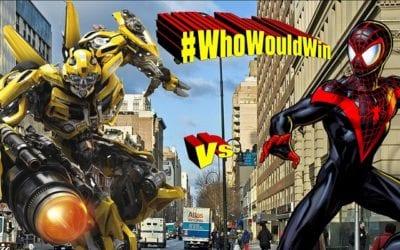 #WhoWouldWin: Miles Morals vs. Bumblebee