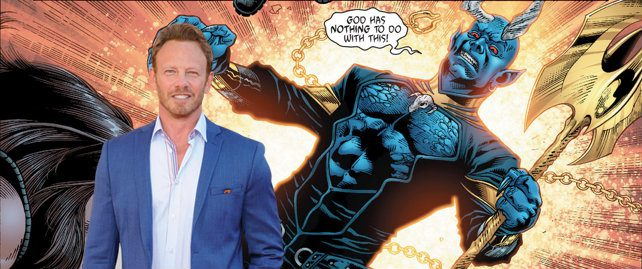 'Swamp Thing': Ian Ziering Cast AS Blue Devil In DC Show