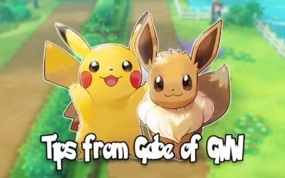 Pokemon Let's Go Tips