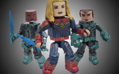 Walgreens to Feature Captain Marvel Minimates