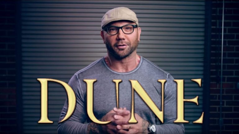 Dave Bautista Join's Legendary's 'Dune' Remake