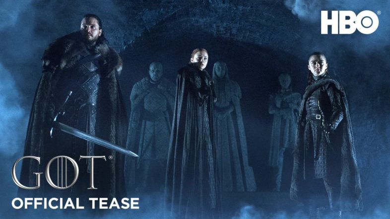 'Game of Thrones' Season 8 Will Premiere April 14th, Teaser Released