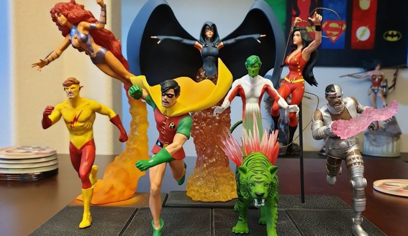 Teen Titans Statues From DC Collectibles