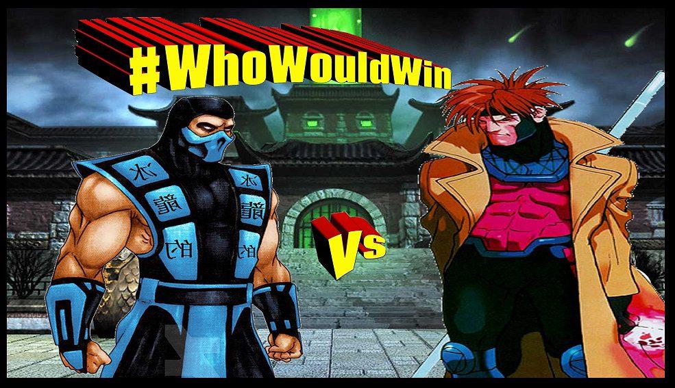 #WhoWouldWin: Sub-Zero vs. Gambit