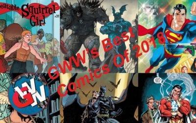 GWW's Best Comics of 2018