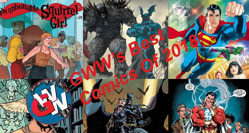 GWW's Best Comics of 2018