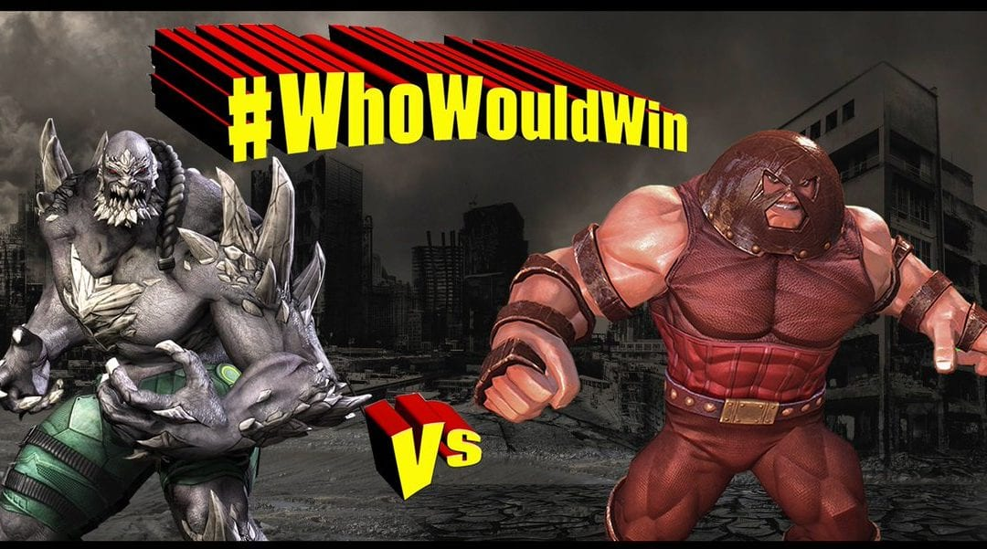 #WhoWouldWin: Doomsday vs. Juggernaut