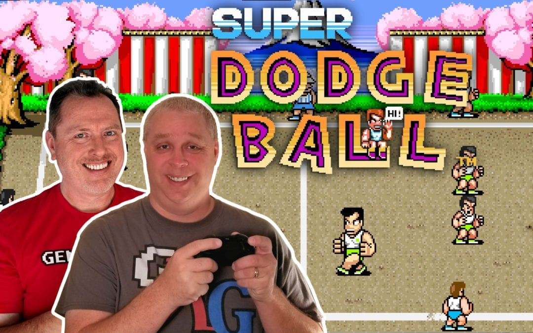 Super Dodge Ball 1987 Technos Arcade Classic | Dodge, Dive, Dip, Duck, and Dodge!
