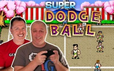 Super Dodge Ball 1987 Technos Arcade Classic | Dodge, Dive, Dip, Duck, and Dodge!