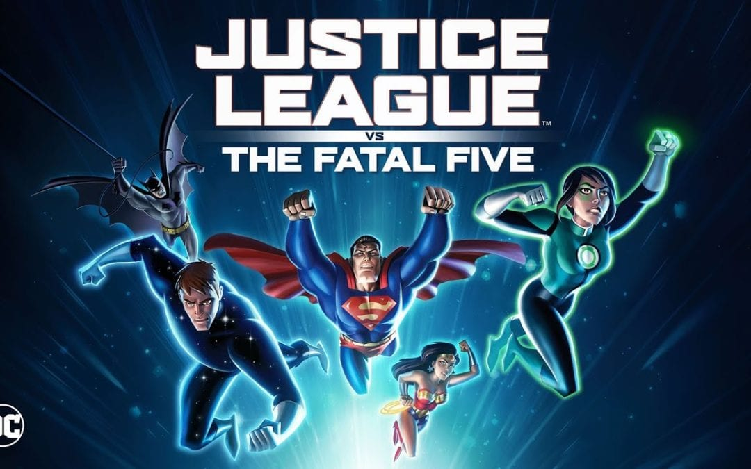 Justice League vs The Fatal Five Release Date Revealed
