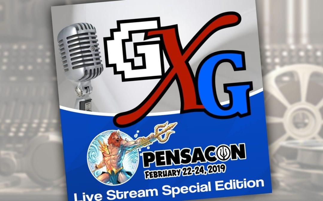 GenXGrownUp: Pensacon 2019 Live Stream Special Edition