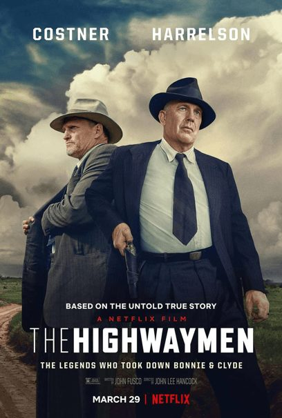 Check out the new Trailer for Netflix's The Highwaymen