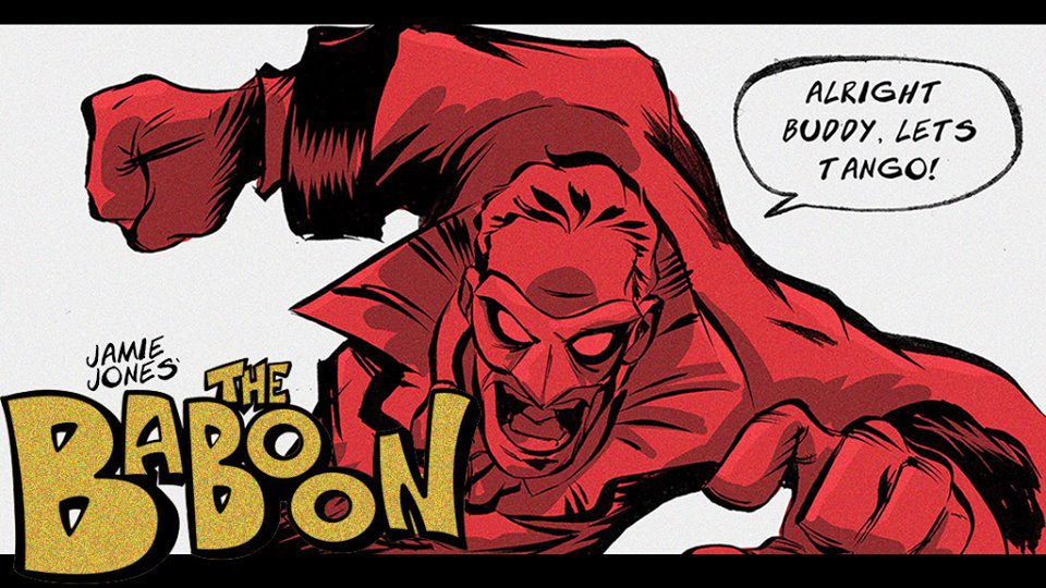 Bringing Back The Pulp with 'The Baboon' Creator Jamie Jones