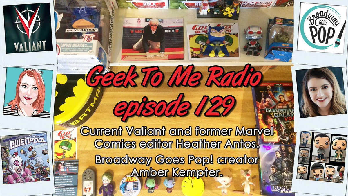 Geek To Me Radio #129: Heather Antos