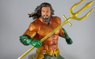 Diamond Select's DC Movie Gallery Aquaman and Ocean Master Statue Reviews