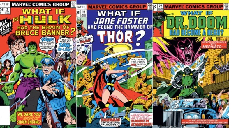 'What If' Animated Anthology Series, Produced by Marvel Studios, in the Works for Disney+