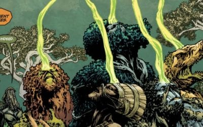 'Swamp Thing' BTS Photos Reveal The Parliament Of Trees; Will No Longer Be Used In The DC Universe Series