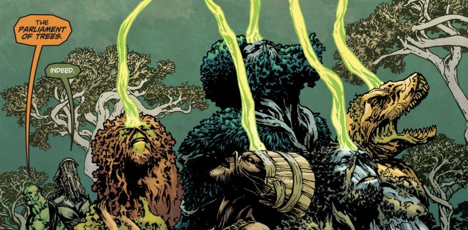 'Swamp Thing' BTS Photos Reveal The Parliament Of Trees; Will No Longer Be Used In The DC Universe Series - GWW