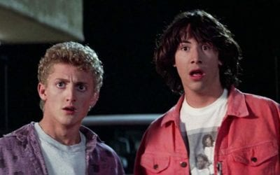 """The Working Title For 'Bill And Ted 3' Is """"Ugly Butlers"""""""