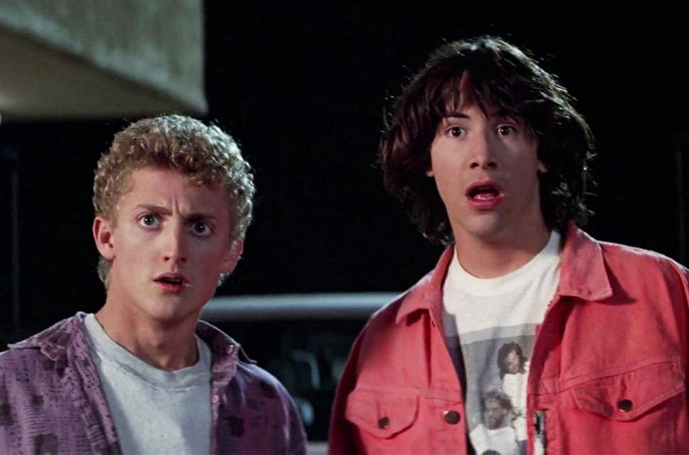 "The Working Title For 'Bill And Ted 3' Is ""Ugly Butlers"""