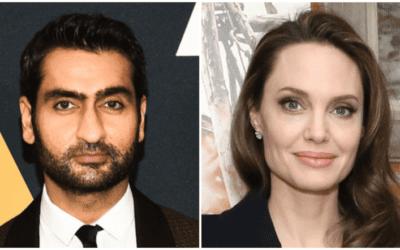 Marvel Studios' 'The Eternals' Has Kumail Nanjiani in Talks to Star; Angelina Jolie in Talks to Play Sersi