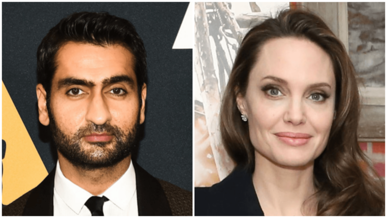 Marvel Studios' 'The Eternals' Has Kumail Nanjiani in Talks to Star; Angelina Jolie in Talks to Play Sersi