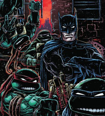 Batman/TMNT III #1 REVIEW