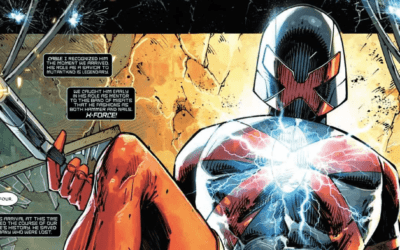 MAJOR X #1 – REVIEW