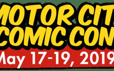 Motor City Comic Con 2019 Has Begun