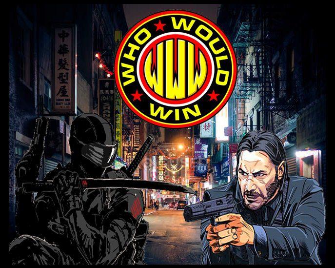#WhoWouldWin: Snake Eyes vs John Wick