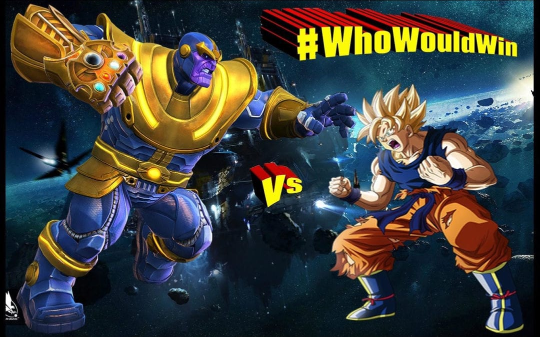 #WhoWouldWin: Thanos vs Goku