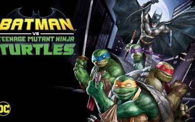 Check Out this Exciting Clip from 'Batman vs. Teenage Mutant Ninja Turtles' out on Digital Today