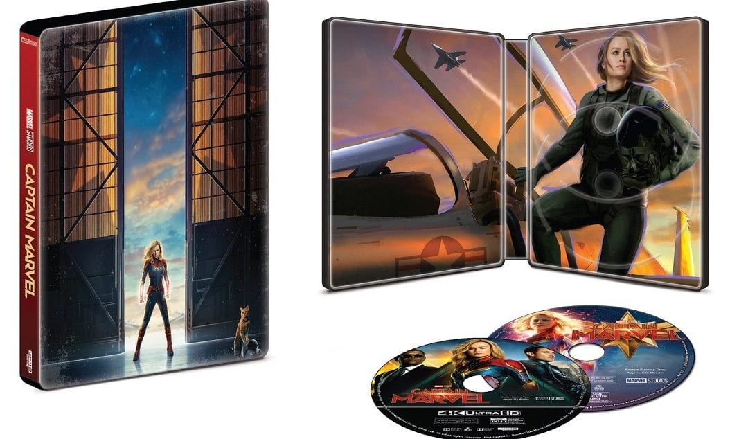 Captain Marvel Blu-Ray REVIEW