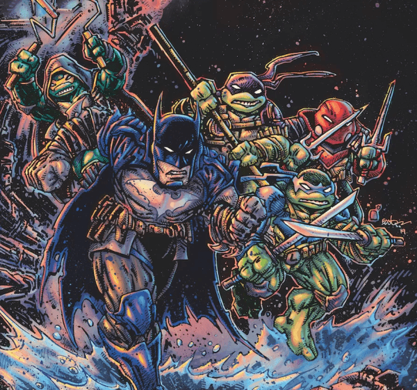 Batman TMNT III #3 (REVIEW)