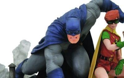 Diamond Drops New Figures Featuring: Batman, Dazzler, Godzilla and More